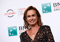 French actress Sandrine Bonnaire poses during a photo call to present the movie &quot;Prendre le large&quot; (&quot;Catch the wind&quot;) during the international Rome Film Festival at Rome's Auditorium, 29 October 2017.<br /> UPDATE IMAGES PRESS/Riccardo De Luca