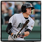 #OTD On This Day, May 22, 2014, 3B Ryder Jones (15) of the Augusta GreenJackets had one hit in a game at Fluor Field at the West End in Greenville, South Carolina. Jones was a second-round pick of the San Francisco Giants in the 2013 First-Year Player Draft. Jones played briefly with San Francisco in 2017 and 2018 and is now with the Red Sox organization. (Tom Priddy/Four Seam Images) #MiLB #OnThisDay #MissingBaseball #nobaseball #stayathome #minorleagues #minorleaguebaseball #Baseball #SallyLeague #AloneTogether