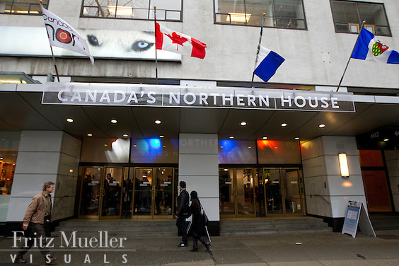 Canada's Northern House at 602 West Hastings