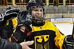 07.01.2020, BLZ Arena, Füssen / Fuessen, GER, IIHF Ice Hockey U18 Women's World Championship DIV I Group A, <br /> Deutschland (GER) vs Frankreich (FRA), <br /> im Bild Torjubel, Ronja Hark (GER, #8)<br /> <br /> Foto © nordphoto / Hafner