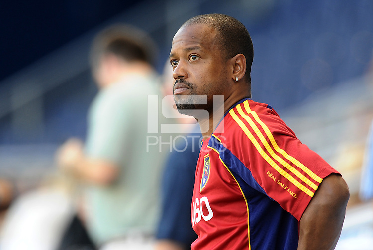 C.J Brown Assistant Coach Real Salt Lake... Sporting Kansas City defeated Real Salt Lake 2-0 at LIVESTRONG Sporting Park, Kansas City, Kansas.