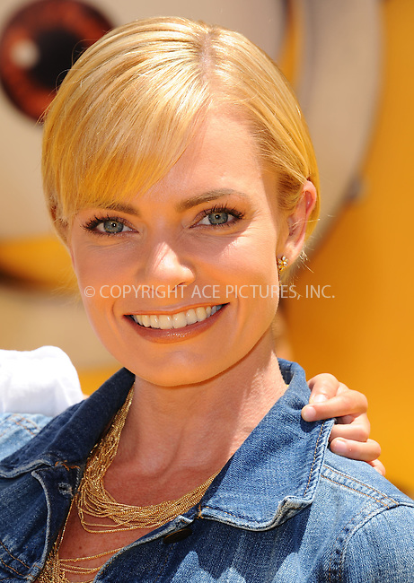 WWW.ACEPIXS.COM<br /> <br /> June 22 2013, New York City<br /> <br /> Jaime Pressly arriving at the 'Despicable Me 2' premiere at Universal CityWalk on June 22, 2013 in Universal City, California.<br /> <br /> <br /> By Line: Peter West/ACE Pictures<br /> <br /> <br /> ACE Pictures, Inc.<br /> tel: 646 769 0430<br /> Email: info@acepixs.com<br /> www.acepixs.com