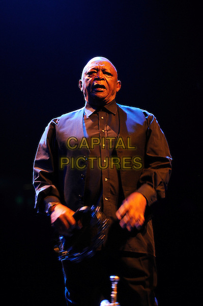 LONDON, ENGLAND - November 15: Hugh Masekela perform in concert at the Royal Festival Hall on November 15, 2013 in London, England.<br /> CAP/MAR<br /> &copy; Martin Harris/Capital Pictures