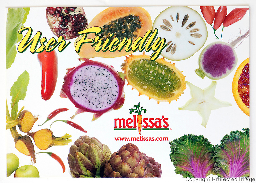 Melissa's World Variety Produce Promo Card
