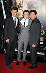 """LOS ANGELES, CA. - February 24: James Badge Dale, Joe Mazzello and Jon Seda arrive to HBO's premiere of """"The Pacific"""" at Grauman's Chinese Theatre on February 24, 2010 in Los Angeles, California."""