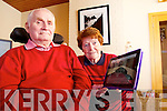 Phil and John Lynch the website which broadcasts a continuous live feed from the Fr St Brendans Church, Tralee.