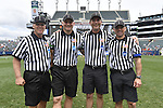 30 MAY 2016: Game referees are seen during the Division 1 Men's Lacrosse Championship between the University of Maryland and the University of North Carolina at Lincoln Financial Field in Philadelphia, PA. Larry French/NCAA Photos