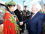 President of Ireland Michael D Higgins pictured at the launch of National Tree week in Ardee. Photo: Colin Bell/pressphotos.ie