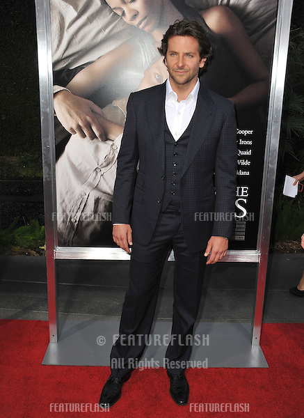 "Bradley Cooper at the Los Angeles premiere of ""The Words"" at the Arclight Theatre, Hollywood..September 4, 2012  Los Angeles, CA.Picture: Paul Smith / Featureflash"
