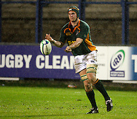 Photo: Richard Lane/Richard Lane Photography. England U20 v South Africa U20. Semi Final. 18/06/2008. South Africa's Gerrit Jan van Velze passes.