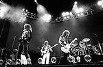Led Zeppelin May 25th 1975 Robert Plant, John Paul Jones, Jimmy Page and John Bonham at Earls Court.