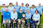 John Fox (Captain of the Kerry Golf Federation) presents Castlegreogary Golf Club captain with the trophy on winning the 9&rsquo;s of Kerry Golf Federation competition in Ballybunion GC on Saturday.<br /> Front l-r, Tom Lean, Eddie Hannafin, John Fox (Captain of the Kerry Golf Federation), Pat Dooly (Captain) and Marilyn O&rsquo;Connor.  <br /> Back l-r, Tina Moriarty, Theresa Rice, Stephen Neillings, Carol Shanahan, Edel Randles, Margaret McCarthy and Tom Moriarty.