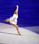 Japan's Miki Ando attends the Ice Gala in Bolzano, on December 29, 2014.