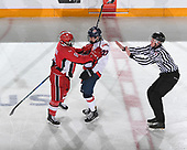 Sudbury, ON - April 25 2018 - Game 7 - Lethbridge Hurricanes vs Toronto Young Nationals the 2018 TELUS Cup at the Sudbury Community Arena in Sudbury, Ontario, Canada (Photo: Matthew Murnaghan/Hockey Canada)