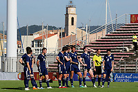 Oliver Burke of Scotland U21's ponders having his penalty saved during Turkey Under-21 vs Scotland Under-21, Tournoi Maurice Revello Football at Stade Francis Turcan on 9th June 2018