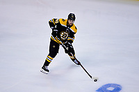 May 2, 2018: Boston Bruins defenseman Matt Grzelcyk (48) in game action during game three of the second round of the National Hockey League's Eastern Conference Stanley Cup playoffs between the Tampa Bay Lightning and the Boston Bruins held at TD Garden, in Boston, Mass. Tampa Bay defeats Boston 4-1. Eric Canha/CSM