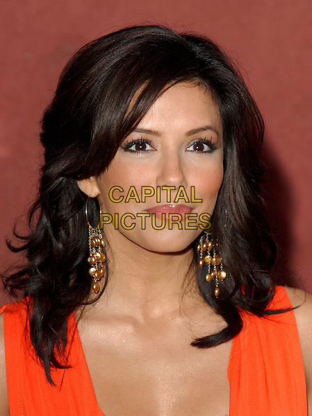 EVA LONGORIA.Movieline's Hollywood Life Magazine's 7th Annual Young Hollywood Awards at The Music Box at The Fonda in Hollwyood, California..May 1st, 2005.headshot portrait dangling hoop earrings.www.capitalpictures.com.sales@capitalpictures.com.Supplied By Capital PIctures