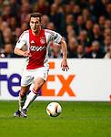Nederland, Amsterdam, 5 november 2015<br /> Europa League<br /> Seizoen 2015-2016<br /> Ajax-Fenerbahce (0-0)<br /> Arek Milik van Ajax in actie met bal