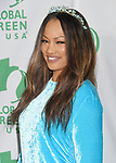 LOS ANGELES, CA - FEBRUARY 22: Actress Garcelle Beauvais arrives at the 14th Annual Global Green Pre-Oscar Gala at TAO Hollywood on February 22, 2017 in Los Angeles, California.