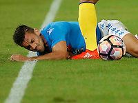 Christian Maggio <br />  during the  italian serie a soccer match,between SSC Napoli and AC Chievo       at  the San  Paolo   stadium in Naples  Italy , September 25, 2016