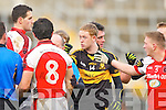 Gooch point out Aidan O'mahony to Ref Padraig O'Sullivan