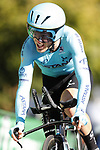 Ion Izaguirre Insausti (ESP) Astana Pro Team in action during Stage 10 of La Vuelta 2019 an individual time trial running 36.2km from Jurancon to Pau, France. 3rd September 2019.<br /> Picture: Luis Angel Gomez/Photogomezsport | Cyclefile<br /> <br /> All photos usage must carry mandatory copyright credit (© Cyclefile | Luis Angel Gomez/Photogomezsport)