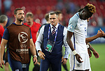 England's Aidy Boothroyd looks on dejected after losing on penalties during the UEFA Under 21 Semi Final at the Stadion Miejski Tychy in Tychy. Picture date 27th June 2017. Picture credit should read: David Klein/Sportimage