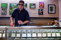 Denver-based medical marijuana dispensaries --Colorado is one of 19 states to permit the medicinal use of marijuana.  In the city of Denver, well over 100 marijuana dispensaries have sprung up to meet the demand.  Patients are required to register with the state and have a valid doctor's note for dispensaries to sell them marijuana.