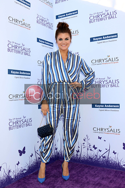 Tiffani Thiessen<br /> at the 17th Annual Chrysalis Butterfly Ball, Private Residence, Los Angeles, CA 06-02-18<br /> David Edwards/DailyCeleb.com 818-249-4998