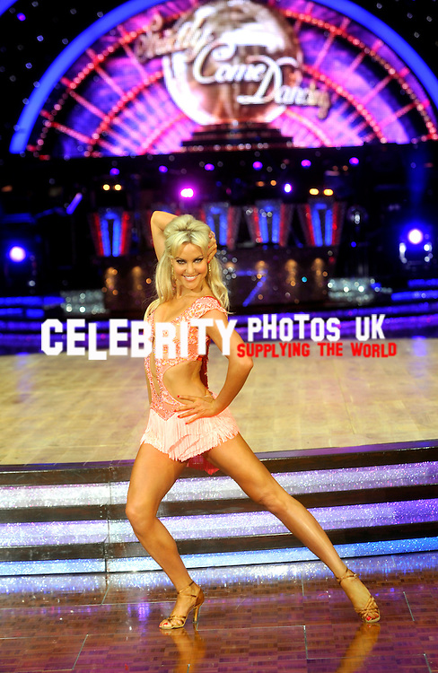Press call for the Strictly come dancing live show in Birmingham 16th January 2014