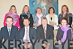 K.E.S.: Students of Applied Behaviour Analysis and Support and Managing Behaviour courses who received their certificates from Kerry football manager Jack O'Connor at the Fels Point hotel on Monday seated l-r: Richard Lawlor (Deputy principal Tralee community college), Jack O'Connor, Ann-Marie O'Kelly and Dr Barney O'Reilly (KES). Back l-r: Christina Leen, Siobhan Twoomey, Margaret O'Sullivan, Patrica Cassidy (Listowel community college) and Margaret Godley (KES).
