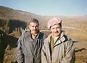 Iran 1990  <br /> In Kasmarach, Mullazem Omar Abdallah and Masoud Barzani<br /> Iran 1990<br /> A Kasmarach, Mullazem Omar Abdallah et Masoud Barzani