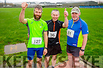 Gareth Scollard Anthony Donnelly and Martin Gill  at the Kerins O'Rahilly's '1916' 10k Run on Sunday