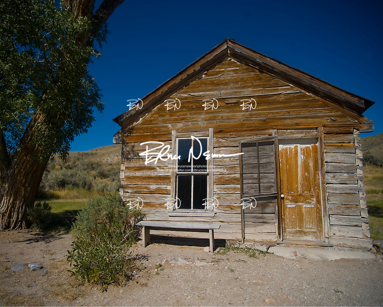 Building in Bannack, Montana on September 11, 2009.