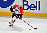 18 December 2008: Philadelphia Flyers' center and Team Captain Mike Richards in action against the Montreal Canadiens in the second period at the Bell Centre in Montreal, Quebec, Canada. The Canadiens, trying to avoid a four-game slide, defeated the Flyers 5-2, thus ending Philadelphia's 5-game winning streak. ***** Editorial Sales Only ***** Mandatory Photo Credit: Ed Wolfstein Photo
