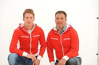 SCHAATSEN: Team Corendon, Jan Blokhuijsen, Jan van Veen, ©foto Martin de Jong