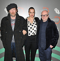 Paul Kaye, Samantha Morton and Dominic Savage at the &quot;I Am Kirsty&quot; BFI &amp; Radio Times Television Festival panel discussion &amp; Q&amp;A, BFI Southbank, Belvedere Road, London, England, UK, on Sunday 14th April 2019.<br /> CAP/CAN<br /> &copy;CAN/Capital Pictures