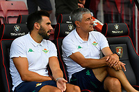 Real Betis Manager Quique Setien right during AFC Bournemouth vs Real Betis, Friendly Match Football at the Vitality Stadium on 3rd August 2018
