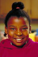 AFRICAN-AMERICAN GIRL. AFRICAN-AMERICAN GIRL. SAN FRANCISCO CALIFORNIA USA.