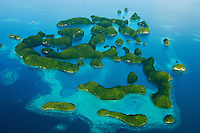 Micronesia Palau, Aerial Photography only