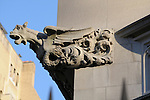 A gargoyle on the Ukrainian Institute of America on East 79th Street and 5th Avenue in New York City.