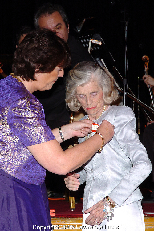 Ambassador of Austria to the United States H.E. Eva Nowotny and Eunice Kennedy Shriver