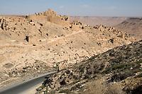 Nalut, Libya - Abandoned Village, Jebel Nefusa