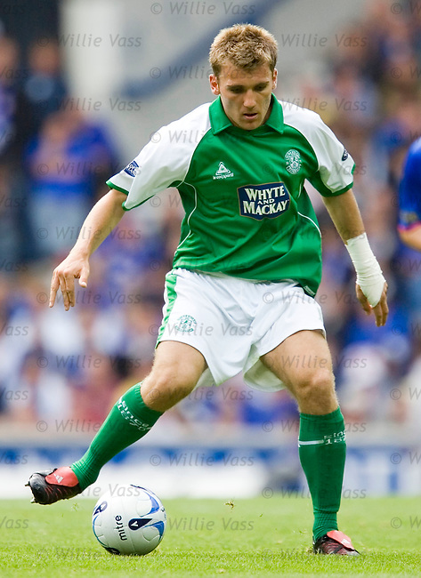 Chris Hogg, Hibs.stock season 2005-2006.pic willie vass
