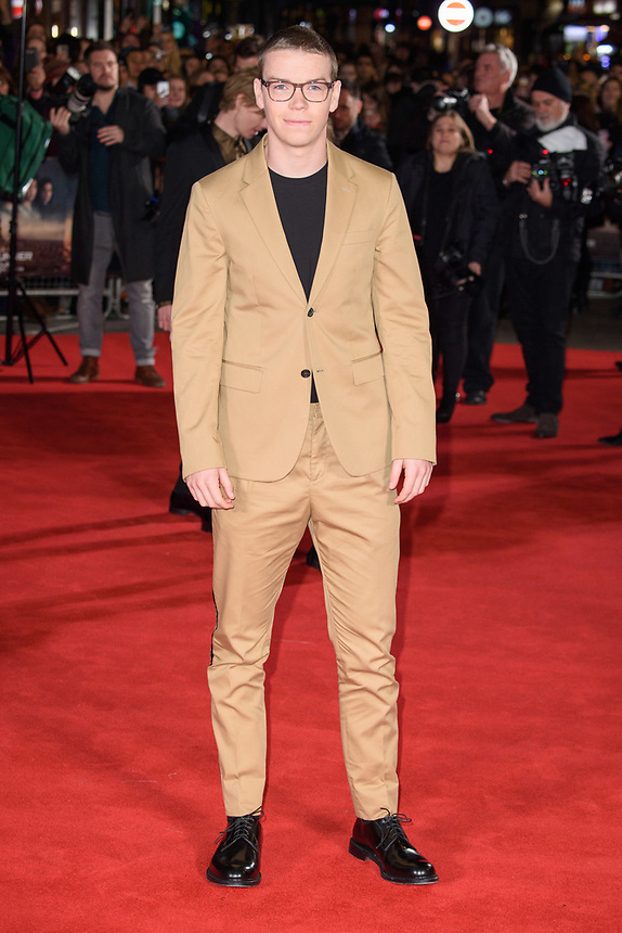 "Will Poulter<br /> arriving for the ""Maze Runner: The Death Cure"" Fan Screening at the Vue West End, Leicester Square, London<br /> <br /> <br /> ©Ash Knotek  D3370  22/01/2018"