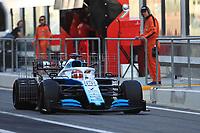 3rd December 2019; Yas Marina Circuit, Abu Dhabi, United Arab Emirates; Pirelli Formula 1 tyre testing sessions; ROKiT Williams Racing, George Russell