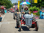 Tractor parade on the midway, Friday at the 80th Amador County Fair, Plymouth, Calif.<br /> .<br /> .<br /> .<br /> #AmadorCountyFair, #1SmallCountyFair, #PlymouthCalifornia, #TourAmador, #VisitAmador