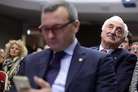 Roma, 8 Gennaio 2015<br /> Enrico Zanetti e Alberto Bombassei.<br /> Primo congresso nazionale di Scelta Civica per l'Italia