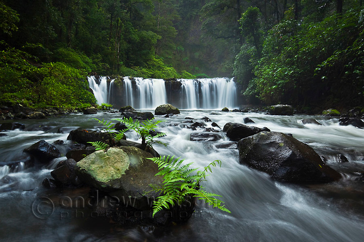 Nandroya Falls in Wooroonoonan National Park.  Atherton Tablelands, Queensland, Australia