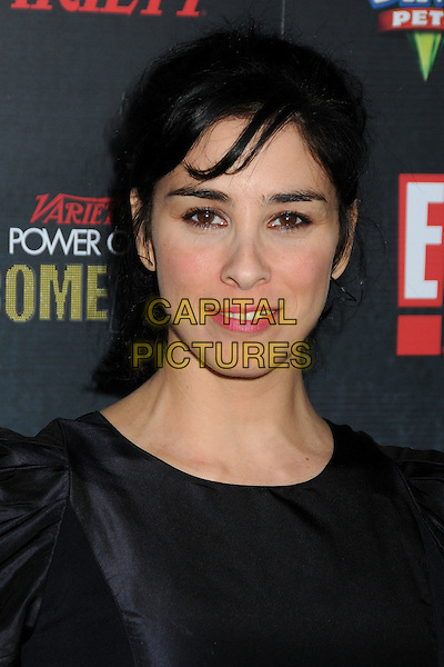 Sarah Silverman.Variety's 2nd Annual Power of Comedy Event held at the Hollywood Palladium, Hollywood, California, USA, .19th November 2011..portrait headshot  smiling  black.CAP/ADM/BP.©Byron Purvis/AdMedia/Capital Pictures.